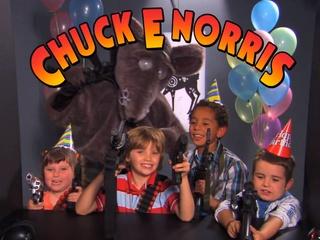 Jimmy Kimmel, Chuck E. Norris, shooting range, fake commericial