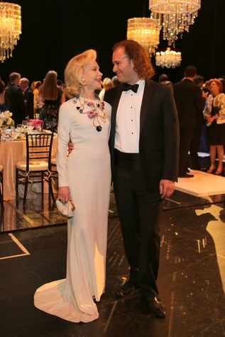 Mercury Gala, April 2016, Lynn Wyatt, Antoine Plante