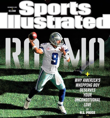 Tony Romo on the cover of Sports Illustrated