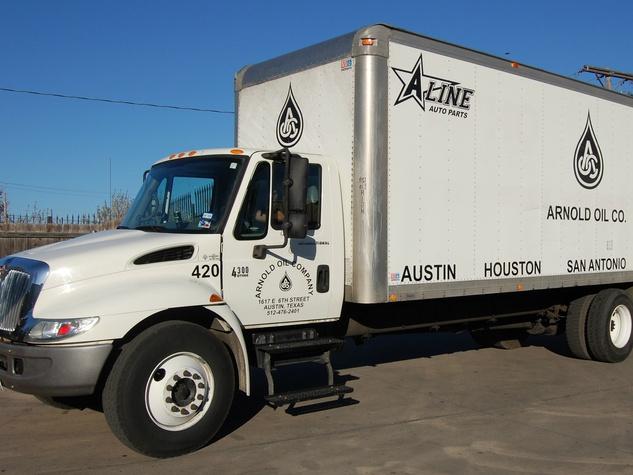 Arnold Oil Company truck