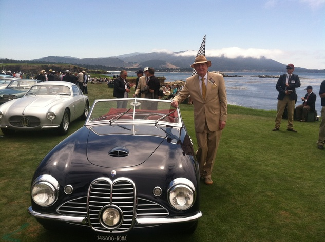 News, Shelby, Pebble Beach Concours d'Elegance, roadsters, August 2014, John Bookout Jr., 1951 Maserati A6G 2000 Frua Spyder