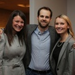 Rachel Stephenson, from left, Will Todd and Julie Stephenson at the Alley Young Professionals holiday party December 2013