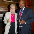Flora Atherton Crichton and Fred McClure at the George Bush Presidential Library Foundation dinner December 2013