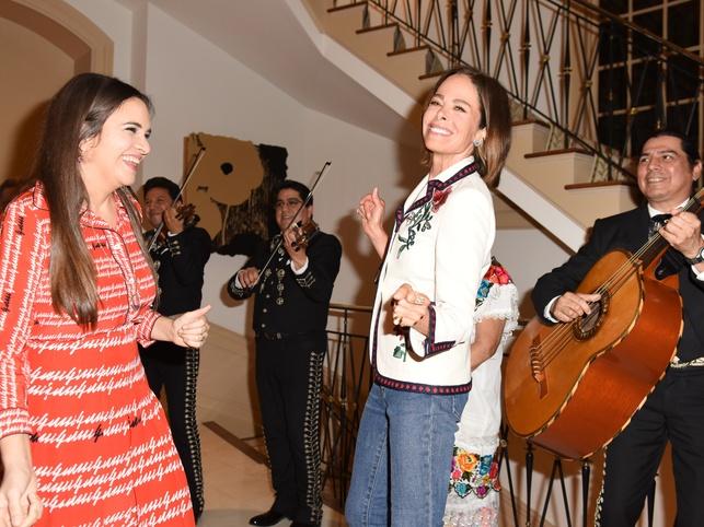 The Webster house party 4/16 Laure Heriard Dubreuil, Allison Sarofim