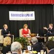 Roger Staubach, Marianne Staubach, Scott Murray, CPPC Luncheon