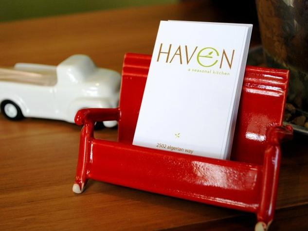 Haven restaurant in Houston