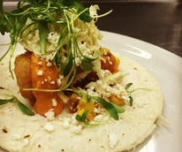 Coast Bar and Restaurant seafood taco