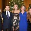 Kennedy and Jason Downing with debutante Caroline Downing, Laura Downing and Katherine Downin
