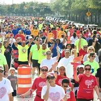 American Heart Association presents 2017 Houston Healthy for Good Heart Walk