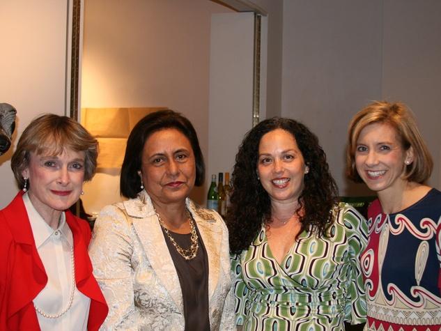 21 Musiqa Passport benefit gala May 2013 Karen Arnold, Gabriella Munoz, Viviana Denechaud and Christina Hanson