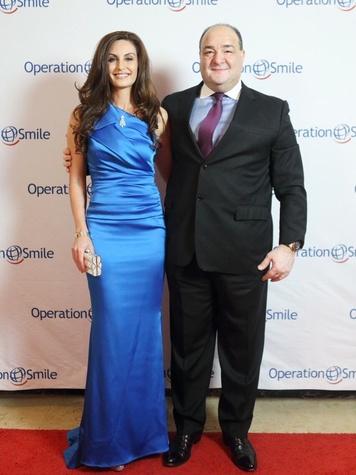 Operation Smile Gala 2015 Brigette and Bashar Kalai