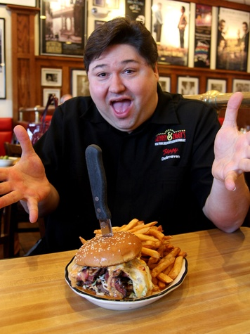 Kenny & Ziggy's, hamburger, burger, Kenny, Zigalicious, January 2013