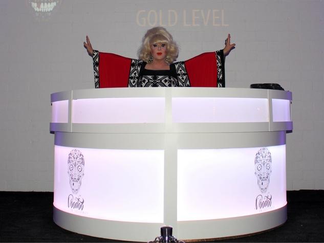 DJ Lady Bunny at Toast to Life 2015