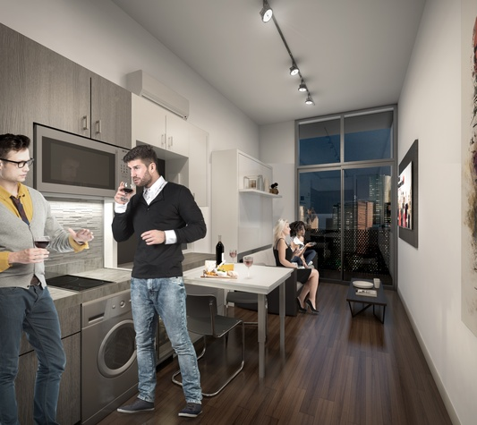 Micro-condos Offer H-Town Opportunity To Live Large While