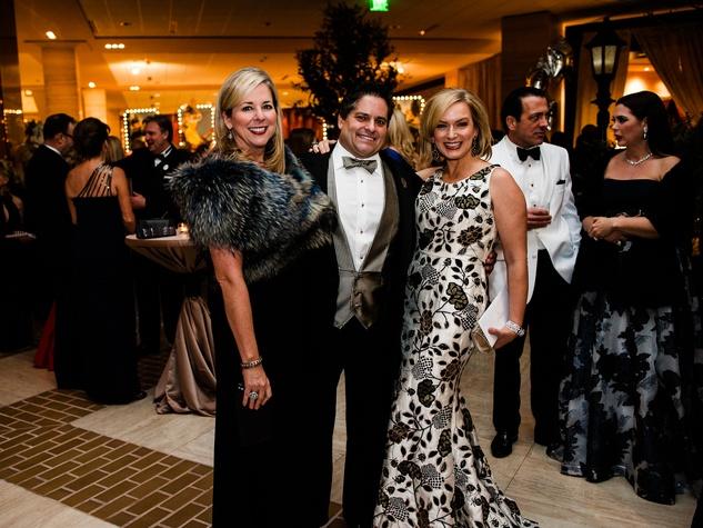 Kristi Cohyl, Ron Cohyl, Kate Rose Marquez at Crystal Charity Ball 2013