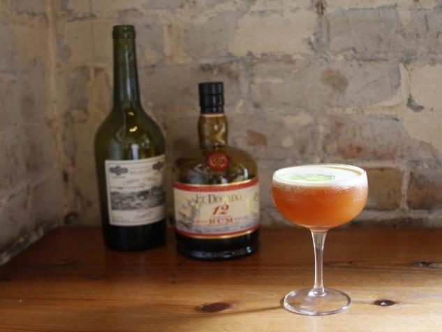 Lamberts rum cocktail