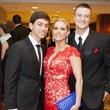 Joshua Stroud, Tammi Neil, Tyler Hackett, black tie dinner
