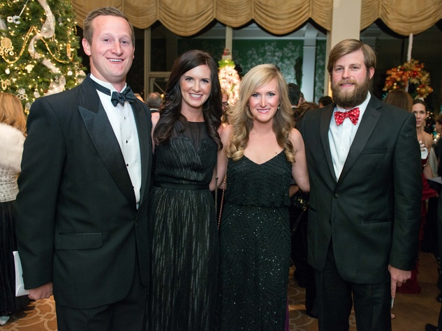 19 Eric and Carly Beckham, from left, and JaNae and Steve Lyon at the Trees of Hope Gala November 2014