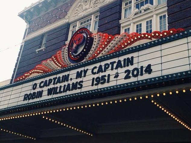 Paramount Theater Robin Williams Tribute
