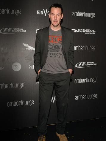 Keanu Reeves Amber Lounge F1 Austin