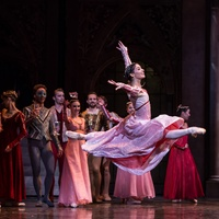 Houston Ballet Romeo and Juliet February 2015 Karina Gonzalez and Artists of Houston Ballet