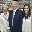 4 Texans owner's suite home opening game September 2013 Janice McNair, James Baker, Hannah McNair