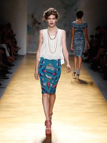 Fashion Week spring summer 2013 Nicole Miller Look 11