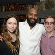 Madeleine Ditto, from left, Nicholas Butler and Taylor Richards at the Urban Wild of Memorial Park Conservancy's Launch Party March 2015
