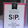 6 SIP sign at the CultureMap Social at Gremillion and Co. Fine Art March 2015