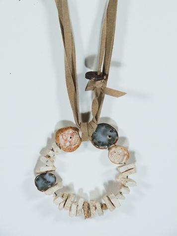 Houston Design Fair 2013 exhibitors BZIPPY & Co. necklace detail