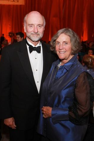 Bill and Sara Morgan at the HGO Opening Night Celebration October 2014