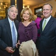 4 Barry Silverman, from left, Shara Fryer and Doug Baker at the Baker Institute reception December 2013