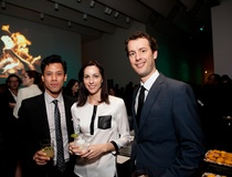 Shelby Hodge: Hot young professionals shun the holiday craze for a wild art party