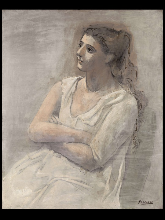 MFAH, Picasso, Woman in White