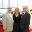 Tommy Proctor, from left, Melanie Campbell and Doug Miller at the Joints in Action at Ferrari of Houston June 2014