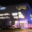 Audi Central Houston grand opening March 2014 exterior at night