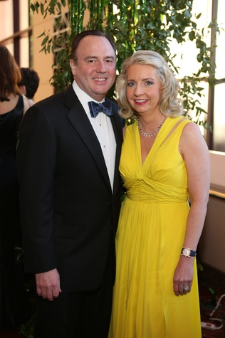 Robert Smith and Karen Turner Smith at the Houston SPA Society for the Performing Arts Gala March 2015
