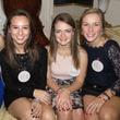 Lexie Hood, Courtney Chavez, Margaret Hardage, and Ellen Crowe, DSOL Deb holiday festivities