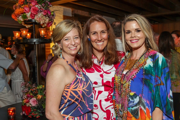 30 Laura McCullough, from left, Sophie Girard and Reagan Bauer at Trees of Houston Root Ball March 2015