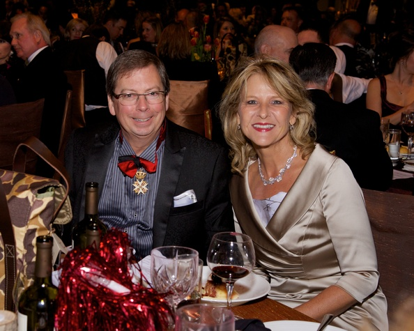 Mark Pharo and Charlotte Ammerman at the Montgomery County Heart Ball March 2014
