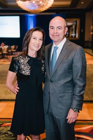 Houston, Boys & Girls Clubs' Great Futures Dinner, September 2015, Patti & Mike Morgan