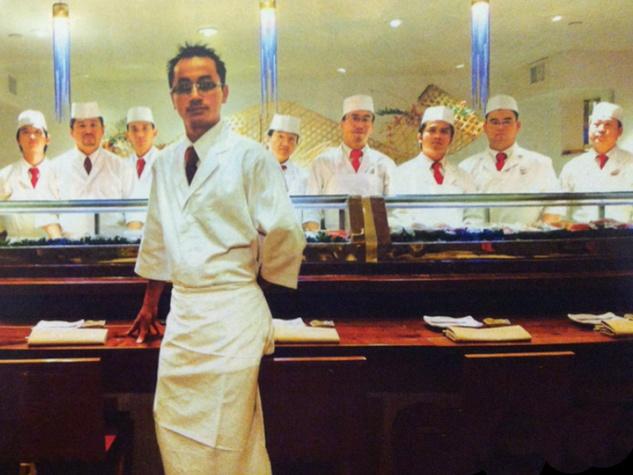 MF Sushi Houston chef Chris Kinjo and his crew
