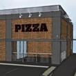 Pizarro's Pizza building rendering