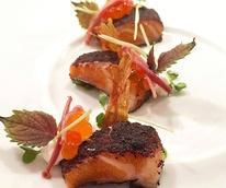 Restaurant Congress salmon belly dish