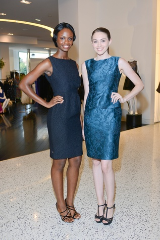 News, Shelby, Models wearing Andrea Phillips, August 2014
