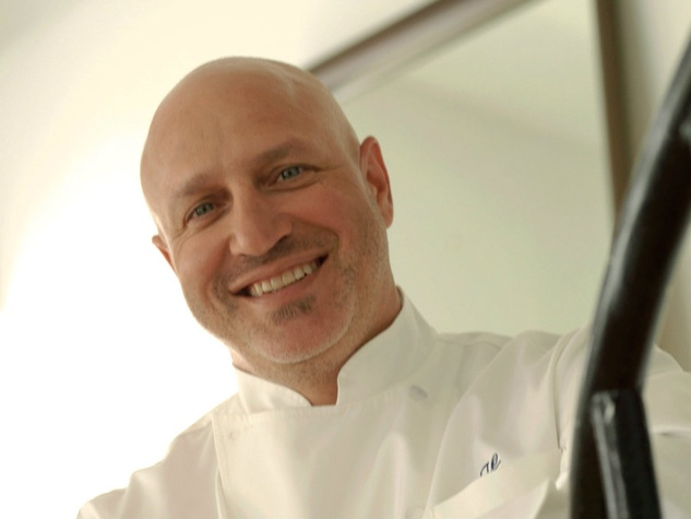 headshot of chef Tom Colicchio of Top Chef and Best New Restuarant on Bravo