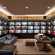 Library at The Joule hotel in Dallas