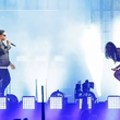 Jay Z and Beyonce at Minute Maid Park June 2014