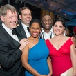 Daniel Slater, Dimitri Pittas, Nicole Heaston, Michael Sumuel, Alicia Gianni at Houston Grand Opera opening night