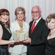 Barbara Van Postman, from left, Mary Ann and Bob Wilkins and Dorothy Bolettieri at the Medical Bridges Gala September 2014